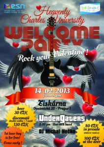 Heavenly Welcome party